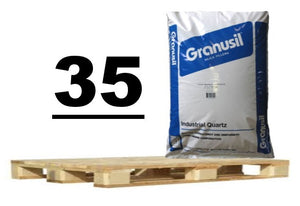Silica Sand Pallet - 35 Bags