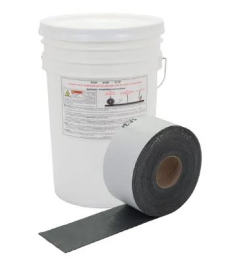 "4"" Crack Filler Strips (4) 4""x 50' Rolls"