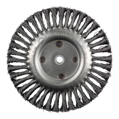 "HedgeHog 8"" Crack Cleaning Wheels for Grazor / Little Wonder"