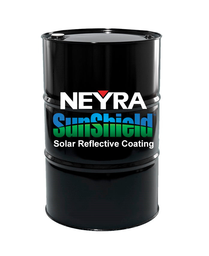 SunShield - Solar Reflective Coating – 55 Gal Drum