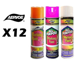 All Purpose Marking Paint - Case Of 12 Free Shipping
