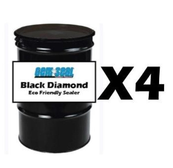Black Diamond Pallet (4) 55 Gal Drums Free Shipping