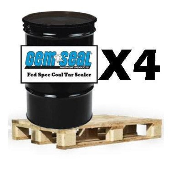 Coal Tar Pallet (4) 55 Gal Drums Free Shipping