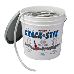Crack-Stix 125 Ft. Gray Permanent Concrete Joint And Crack Filler Free Shipping