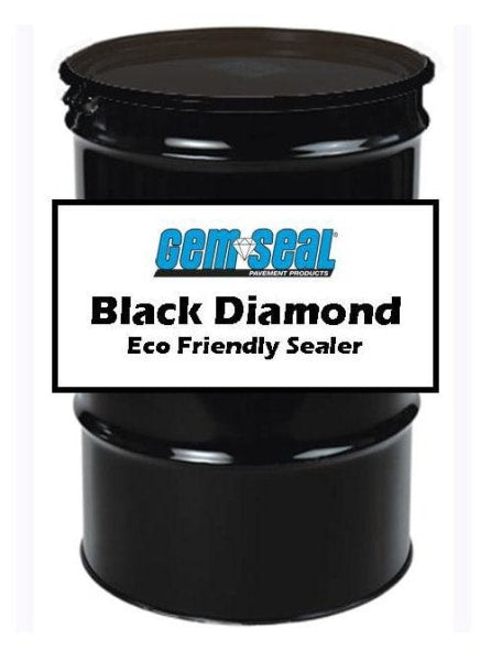 Gemseal Black Diamond Sealer - 55 Gal Drum Free Shipping