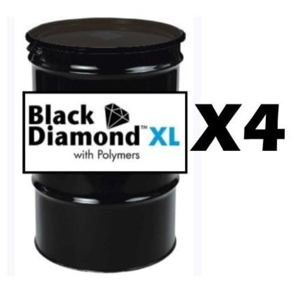 Gemseal Black Diamond Xl Sealer - (4) 55 Gal Drums Free Shipping