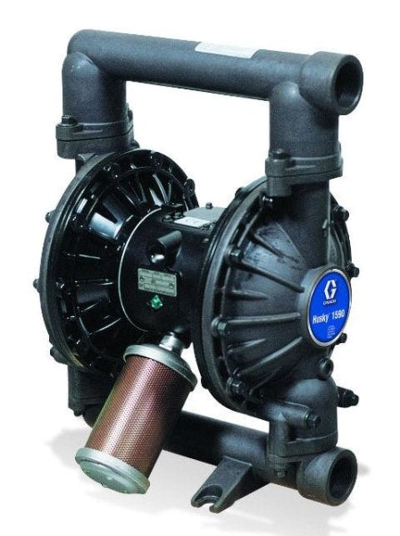 Graco Husky 1590 Double Diaphragm 1-1/2 Pump Free Shipping