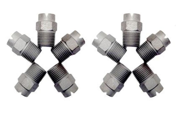 Hardened Steel Spray Tips- 10 Pack Free Shipping