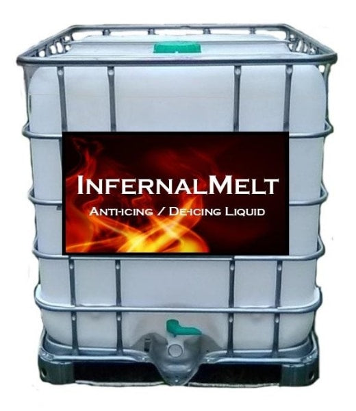 Infernalmelt - Standard Anti-Icing / De-Icing 250 Gal Tote Free Shipping