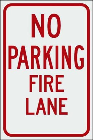 No Parking Fire Lane Free Shipping