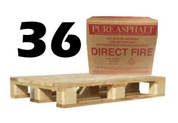 Pure Asphalt Direct Fire Parking Lot Crack And Joint Sealant Pallet Free Shipping