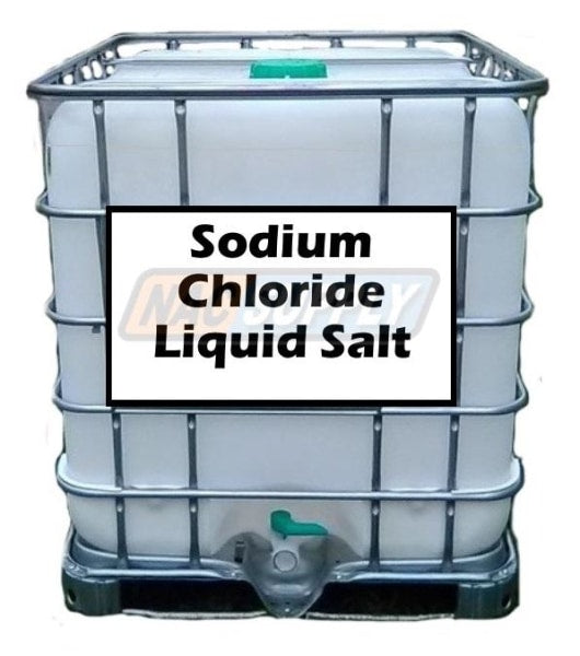 Sodium Chloride Liquid Salt Anti-Icing / De-Icing 250 Gal Tote Free Shipping