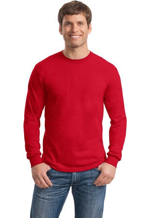 Gildan - DryBlend™ 50 Cotton/50 DryBlend™ Poly Long Sleeve T-Shirt. 8400