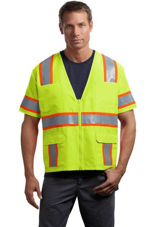 CornerStone® - ANSI Class 3 Dual-Color Safety Vest. CSV406