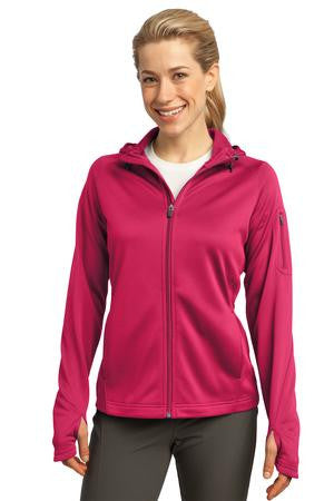 Sport-Tek® - Ladies Tech Fleece Full-Zip Hooded Jacket. L248