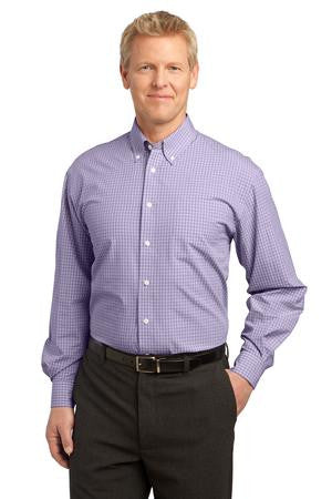 Port Authority® - Plaid Pattern Easy Care Shirt. S639