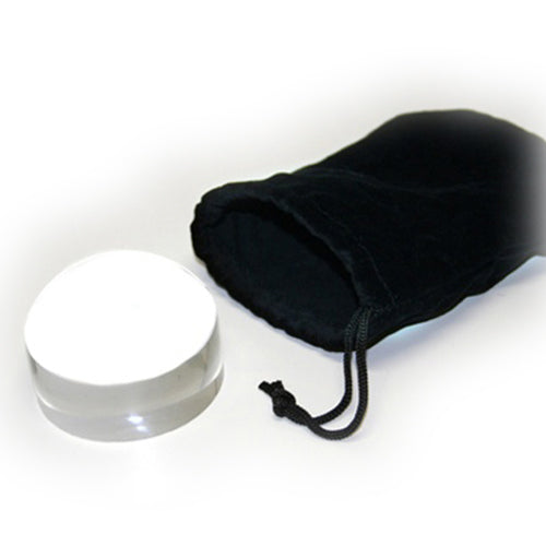 "Ultradome 2.5"" Loupe 4x Magnifier with Travel Pouch"
