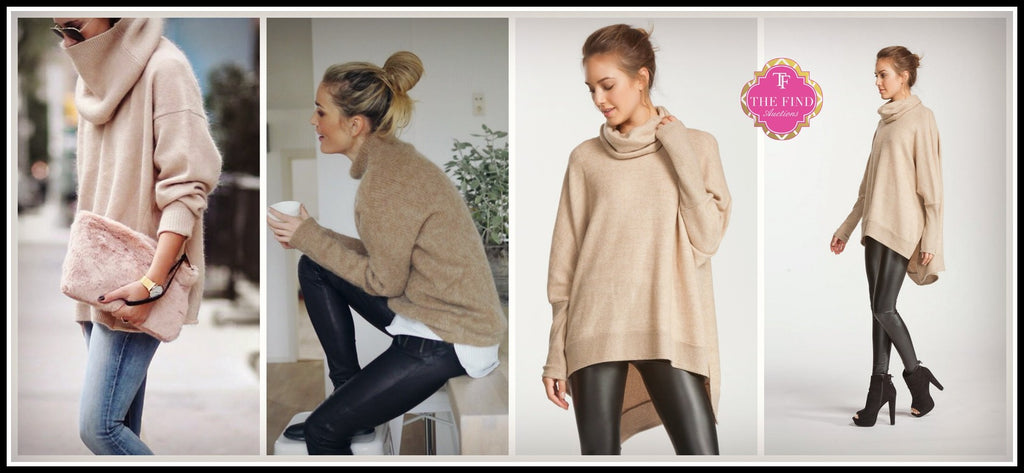 Ainsley Camel Sweater