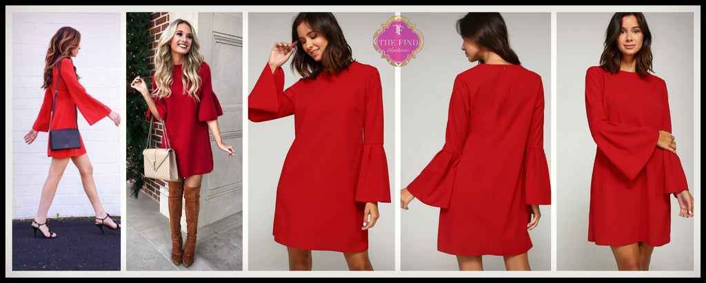 Becca Bell Sleeve Dress