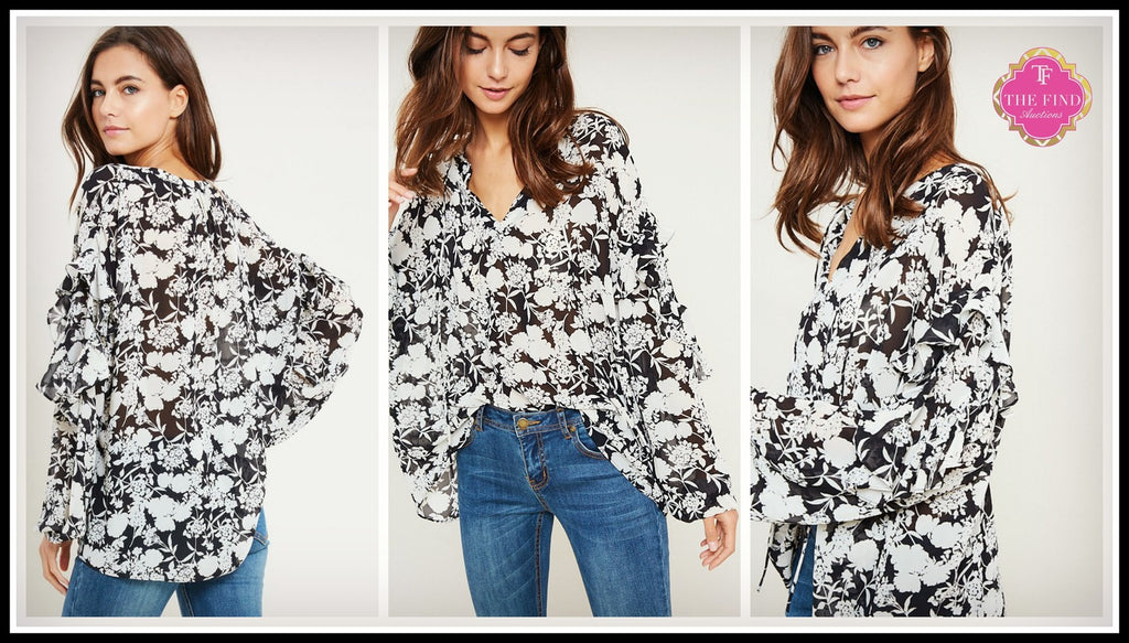 Connor Floral Top