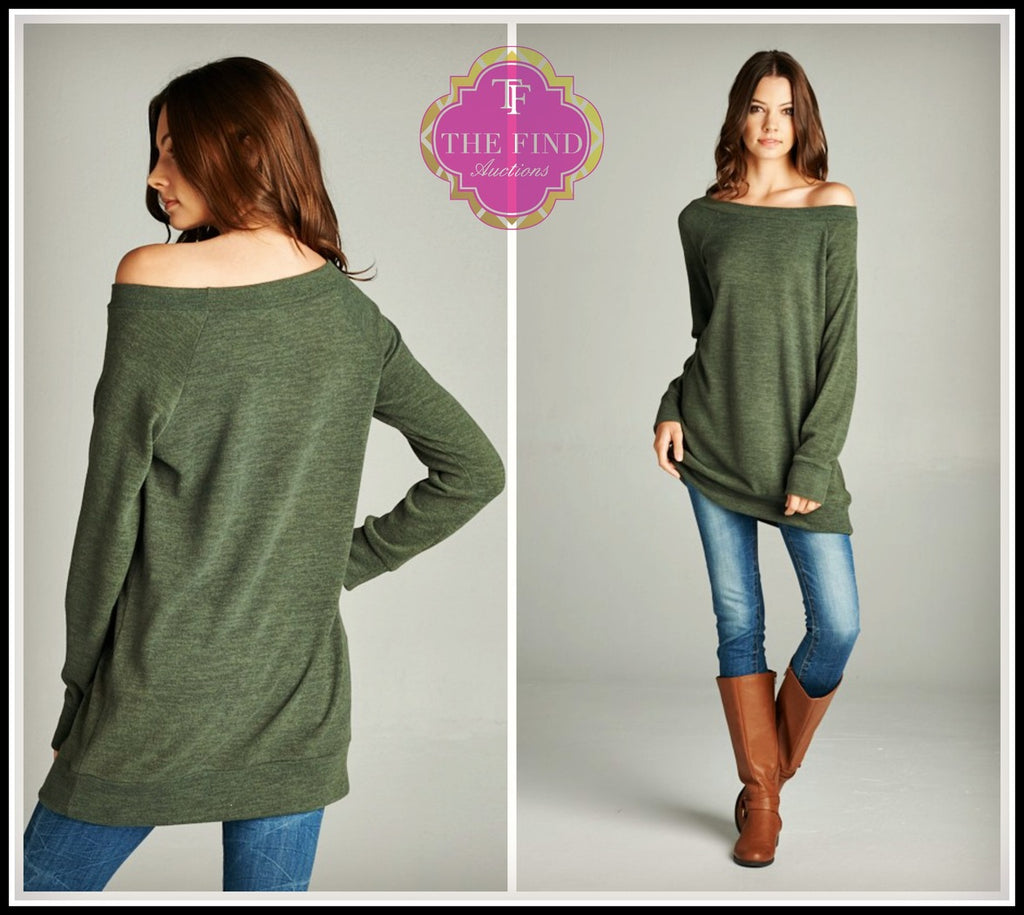 Dakota Top in Olive