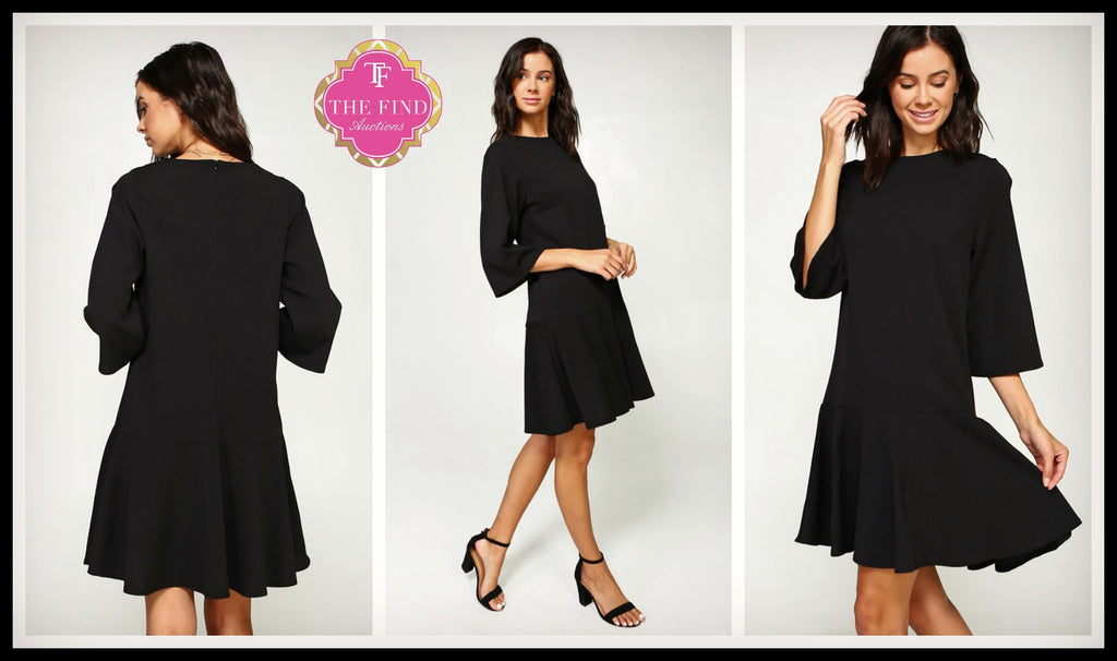 Hamilton Dress in Black
