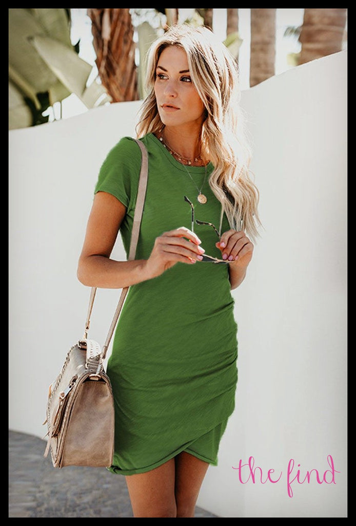 Harlan Dress in Green