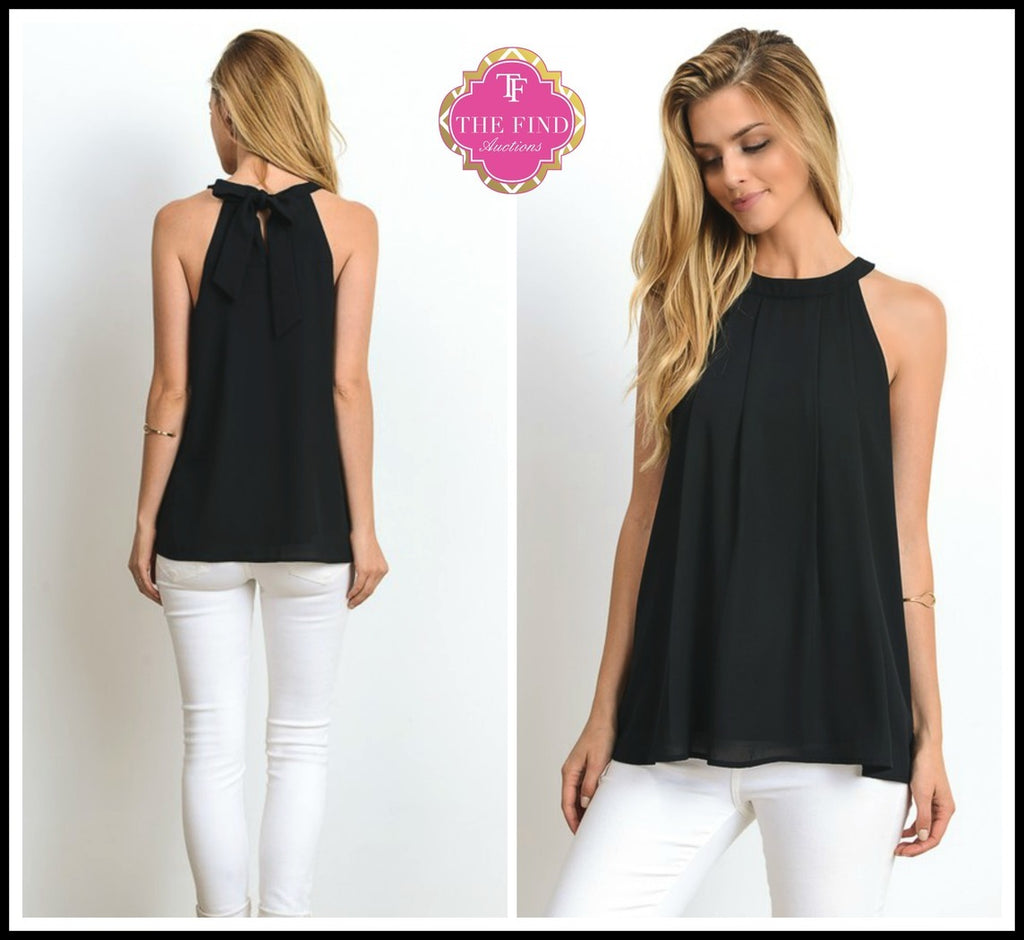 Hawthorne Top in Black