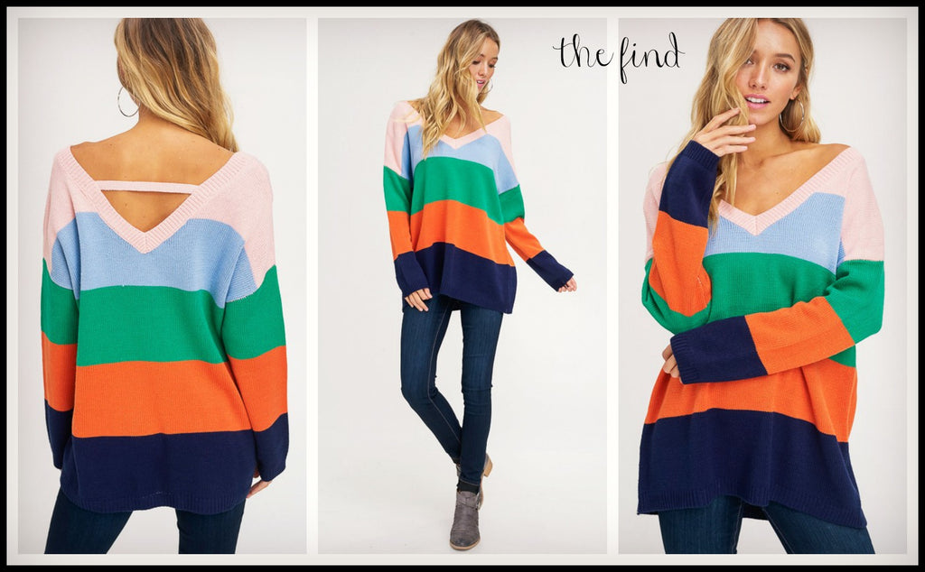 Kelly Colorblock Sweater