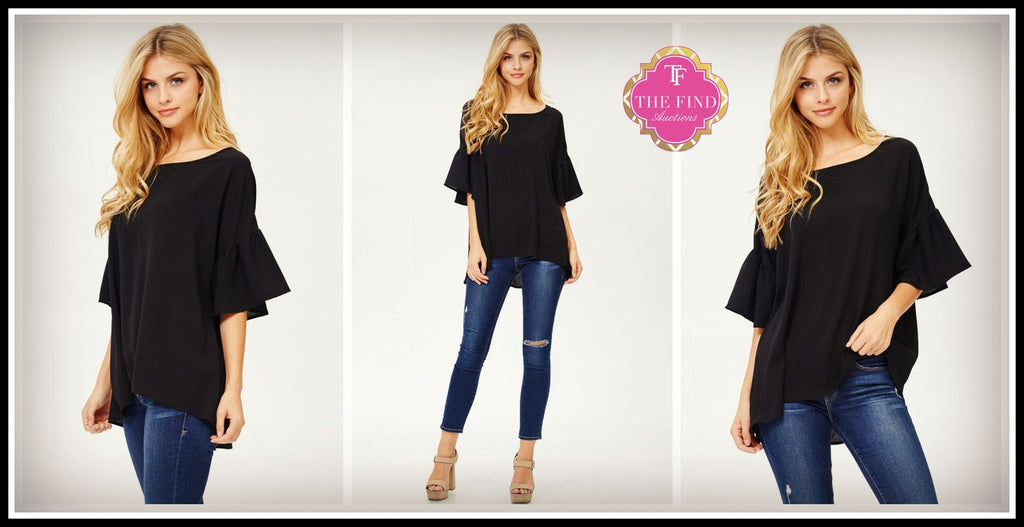 Mallory Top in Black