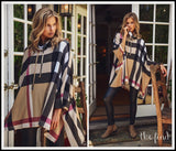 Raleigh Plaid Poncho