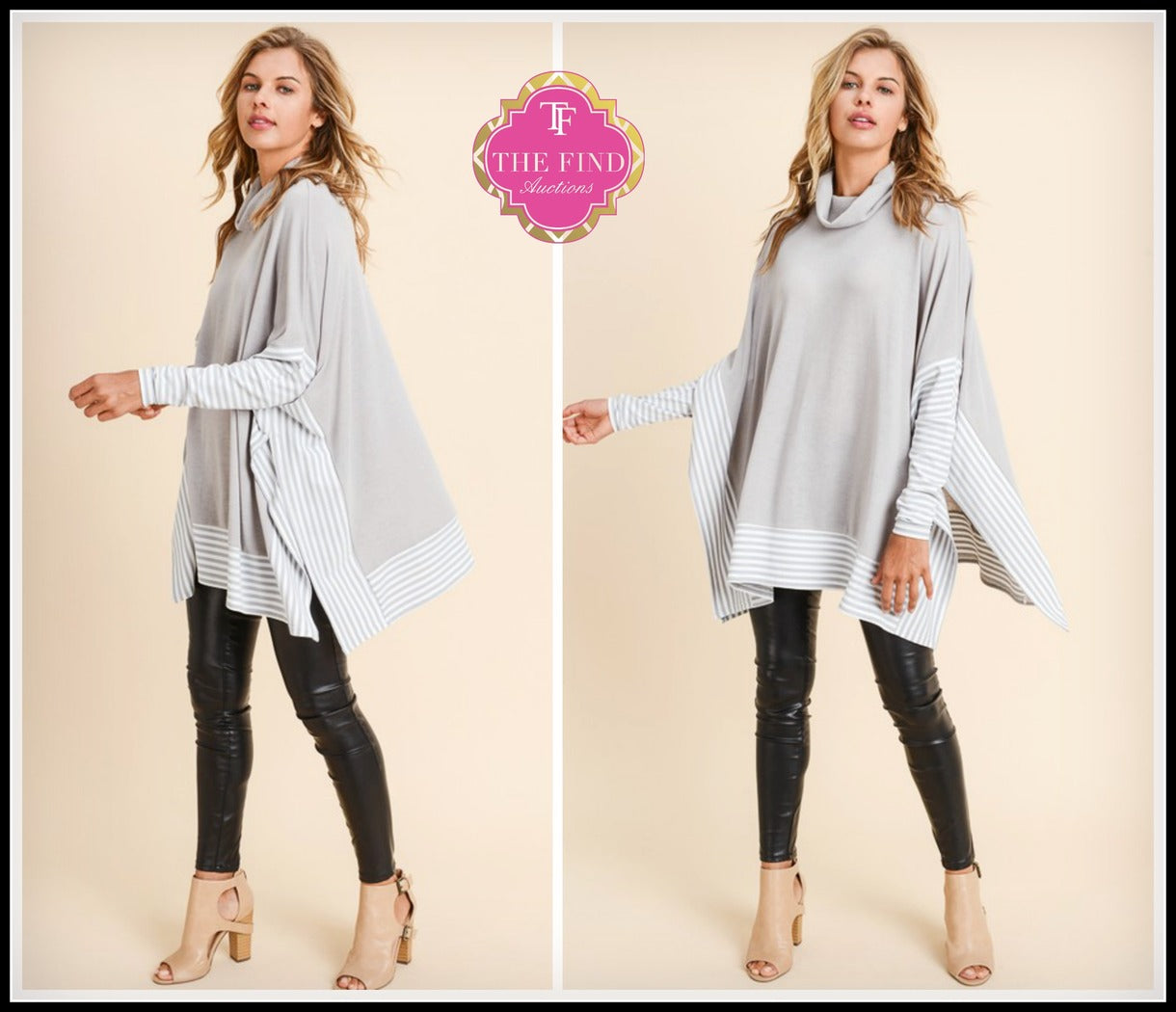 Rosedale Tunic in Heather Gray
