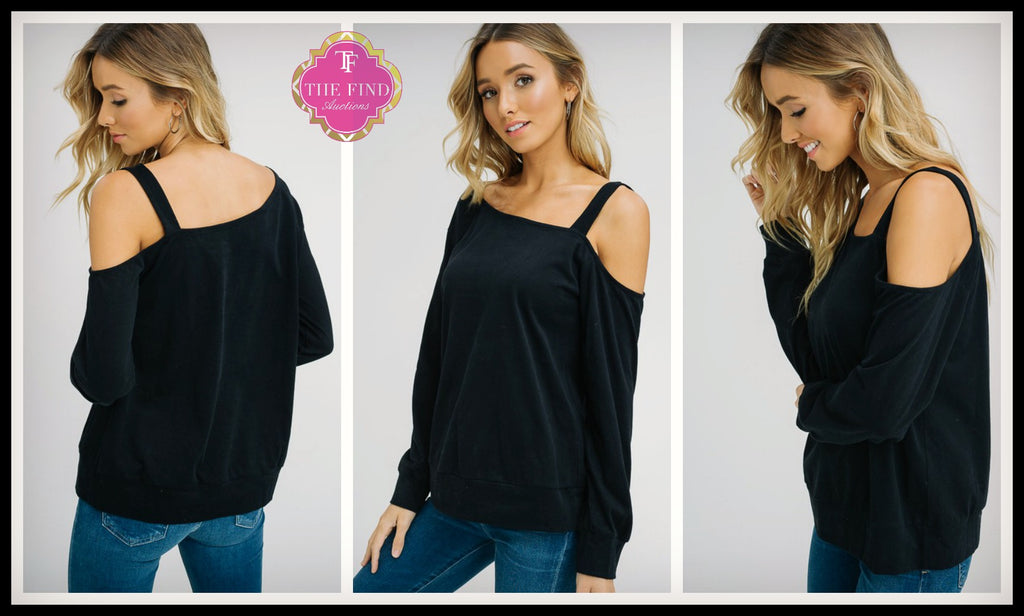 Simmons Cold Shoulder Top