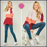Tatum Colorblock Sweater
