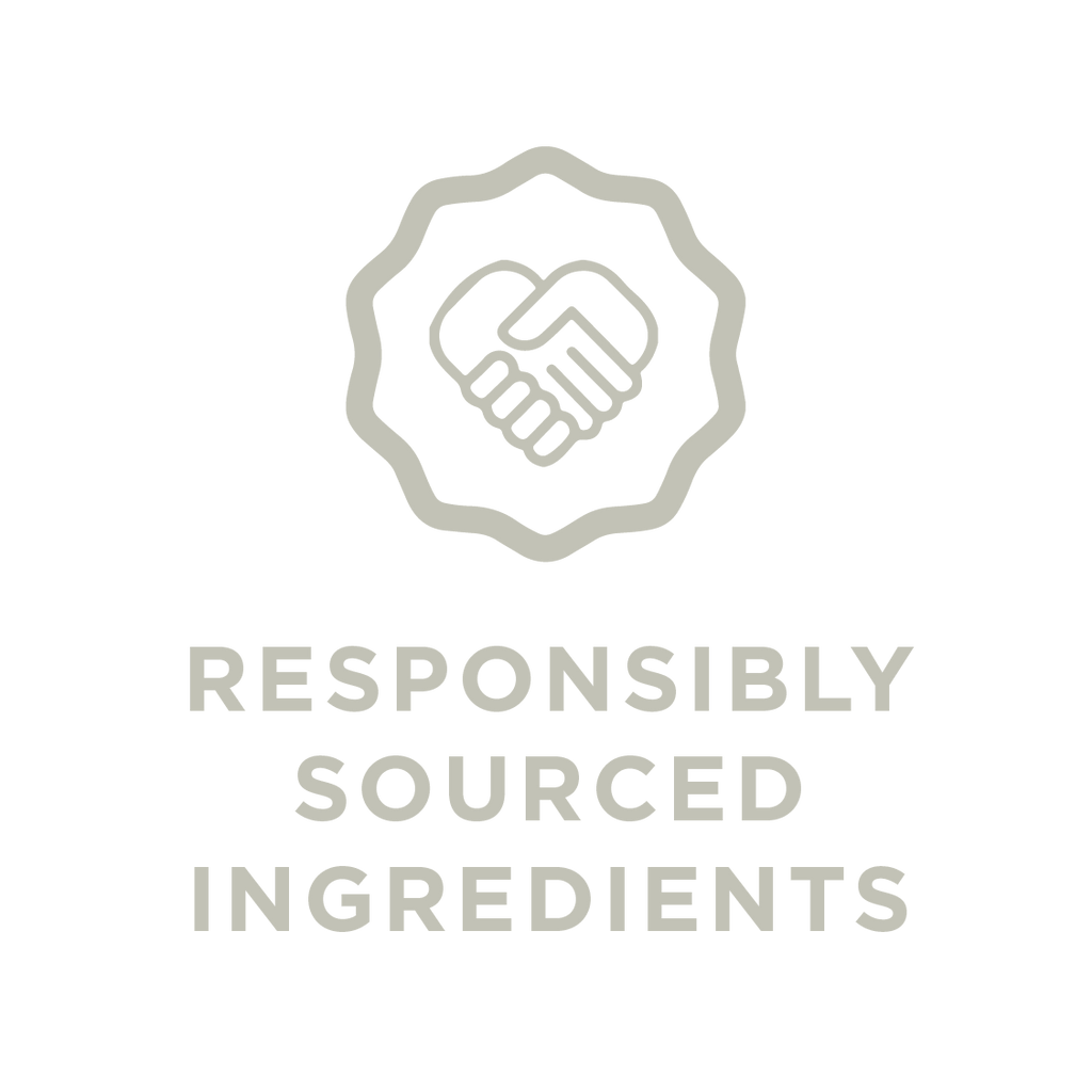 Responsibly sourced ingredients