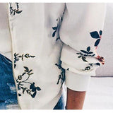 Floral Printed Spring Women's Jackets
