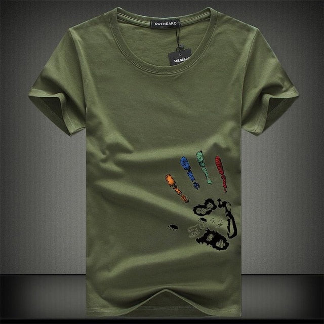 Summer t-shirt Hands of love
