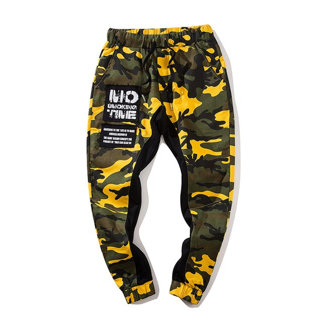Camouflage Loose Pants