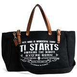 Large Capacity Tote Handbag