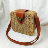 Square Round Mulit Style Straw Bag