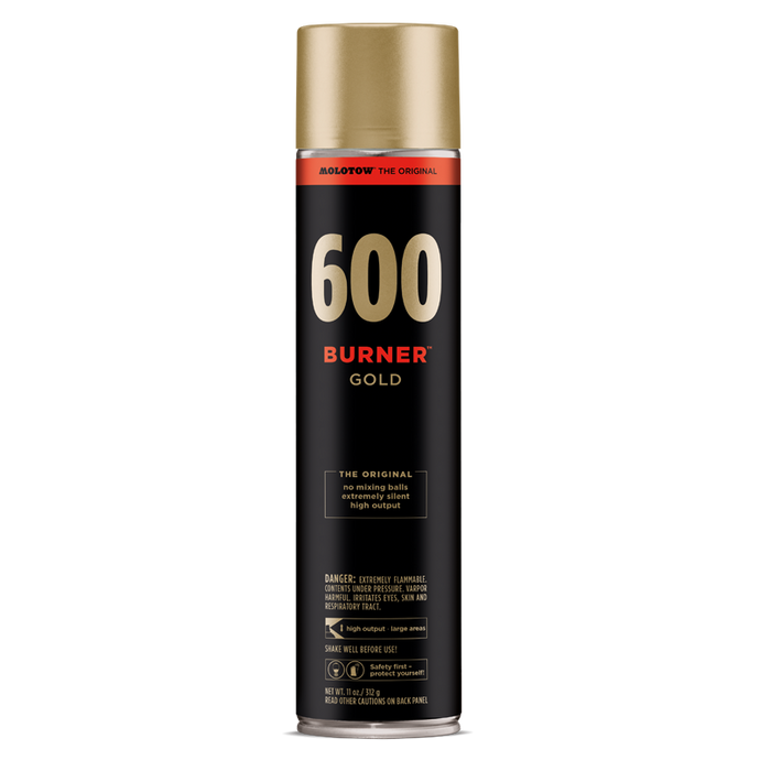 BURNER™ GOLD 600 ML
