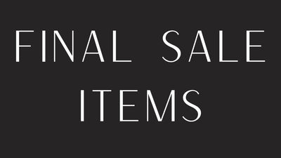 Shop Final Sale Items