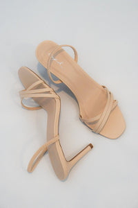 Elle Slingback Nude Heels - Evening Primrose Boutique