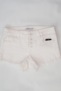 Celebrity Pink Sofia White Button Shorts W/ Fray Hem Sizes 1-11 - Evening Primrose Boutique