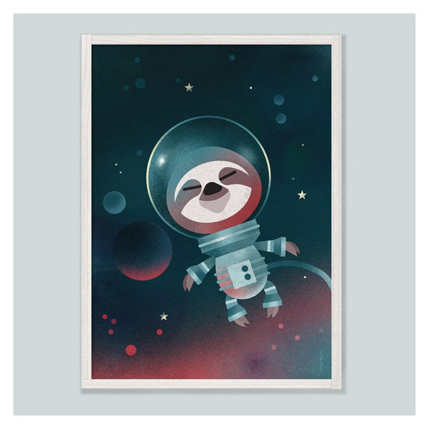 Dieter Braun - Poster Space Sloth