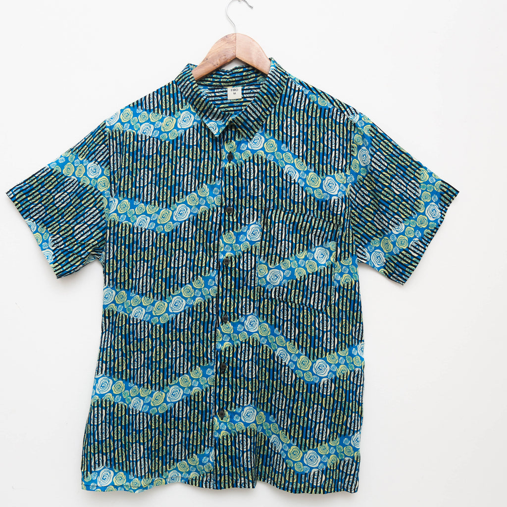 "Firo Shirt in ""Beachy Blue"""