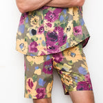 "Firo Shorts in ""Mama's Garden"""