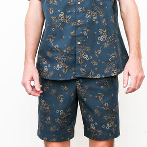 "Firo Shorts in ""Midnight Garden"""