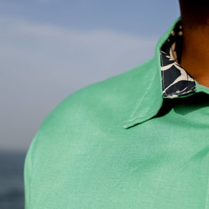 "Firo Shirt in ""Lime Linen"""