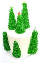 Load image into Gallery viewer, Christmas trees cake